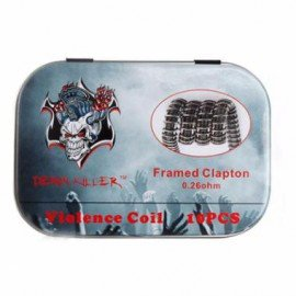 Pré-roulé Framed Clapton (Pack de 10) - Demon Killer