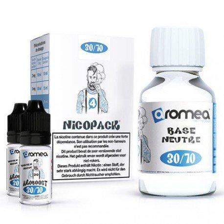 base_100ml_30-70-4mg - Aromea liquide