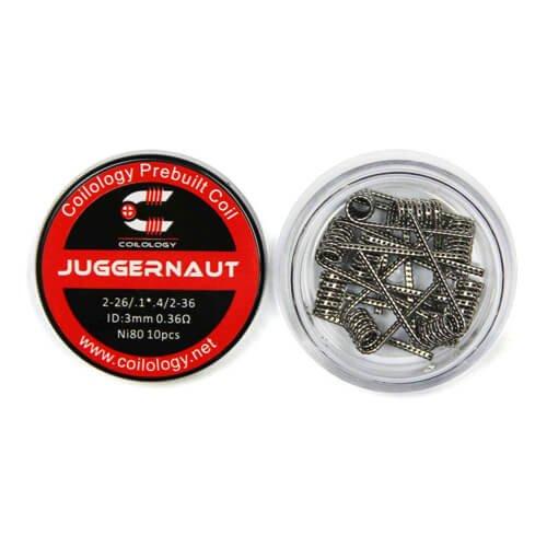 Résistances Juggernaut 0,36 Ω - Coilology