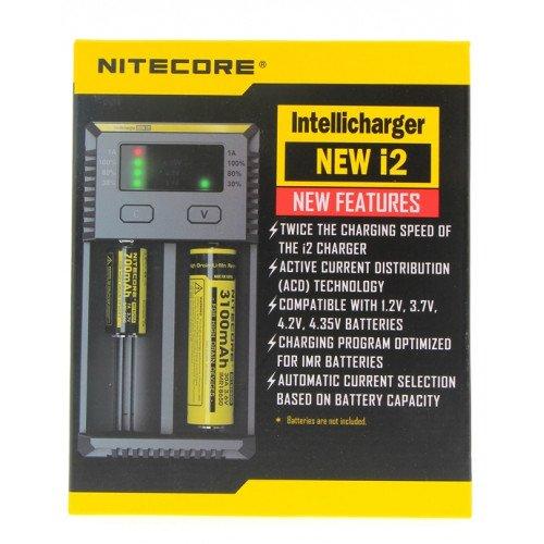 Chargeur accus I2 - Nitecore