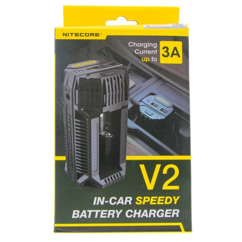 Chargeur Accus Voiture - Nitecore