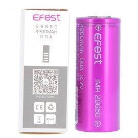 Accu EFEST IMR 26650 - 50A - 5000 mAh