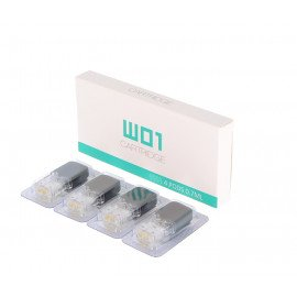 W01 Pods Cartridge 0,7 ml pour OVNS W01 Pod Vape Kit (x4)