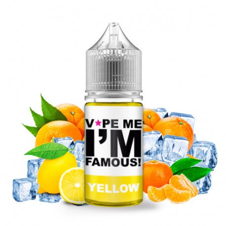 Concentré Yellow 30ml - Vape me i'm famous